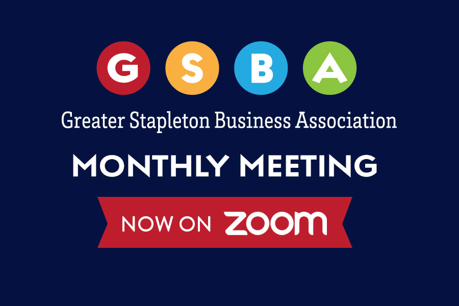 GSBA Monthly Meeting now on Zoom